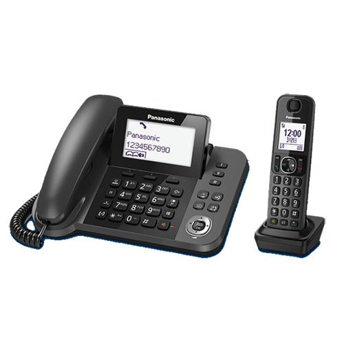 【國際牌Panasonic】子母雙機數位無線電話 KX-TGF310TWB★