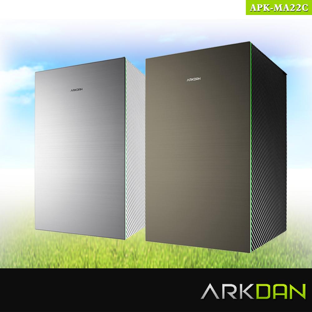 【阿沺ARKDAN】24坪日本限量大師款空氣清淨機 APK-MA22C(黑金/白銀)★