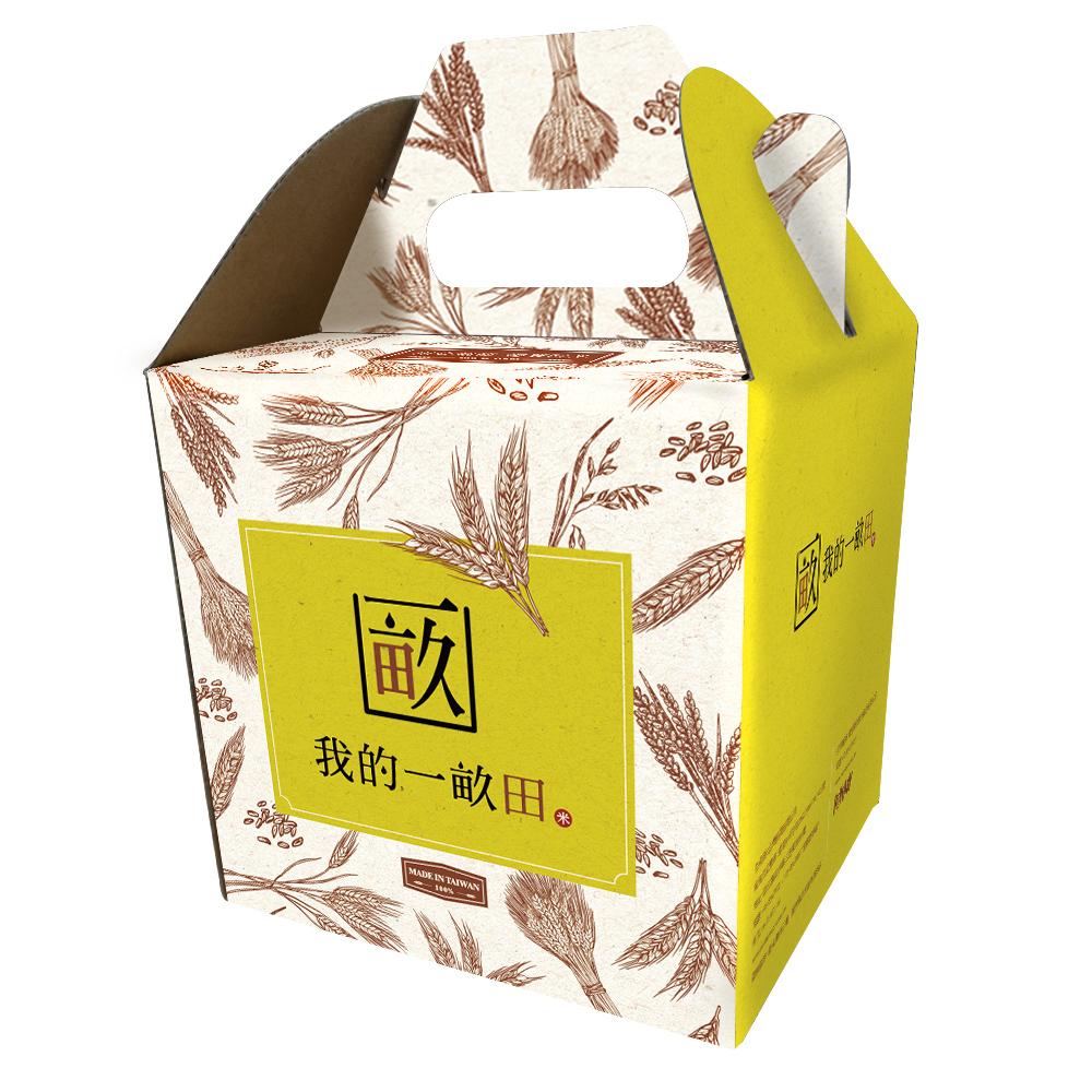 【我的一畝田】台農71號(益全香米) 6入禮盒