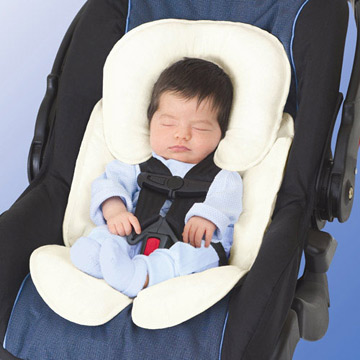 美國【Summer Infant】寶寶車用柔軟保護墊-象牙色