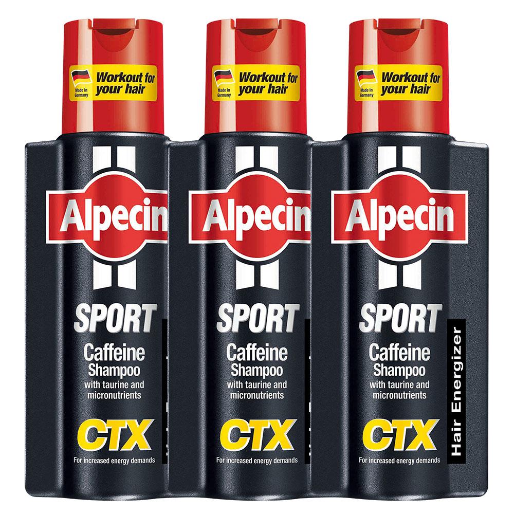 Alpecin 運動型咖啡因洗髮露250ml(3入組)