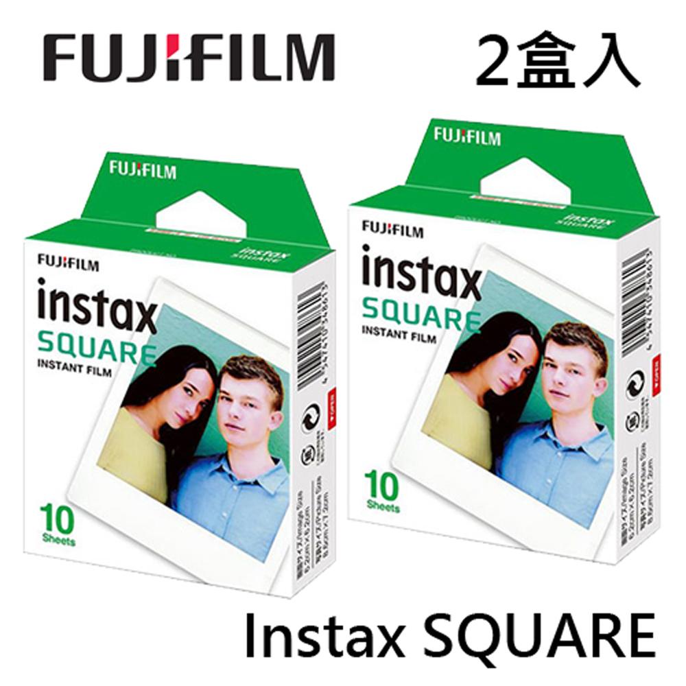 2入賣場(共20張) FUJIFILM Instax SQUARE 拍立得底片 方型底片 空白底片 適用 instax SHARE SP-3