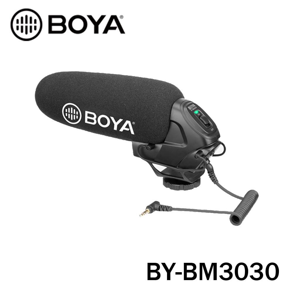 BOYA 博雅 BY-BM3030 專業級 單眼相機 相機 機頂 麥克風 立福公司貨