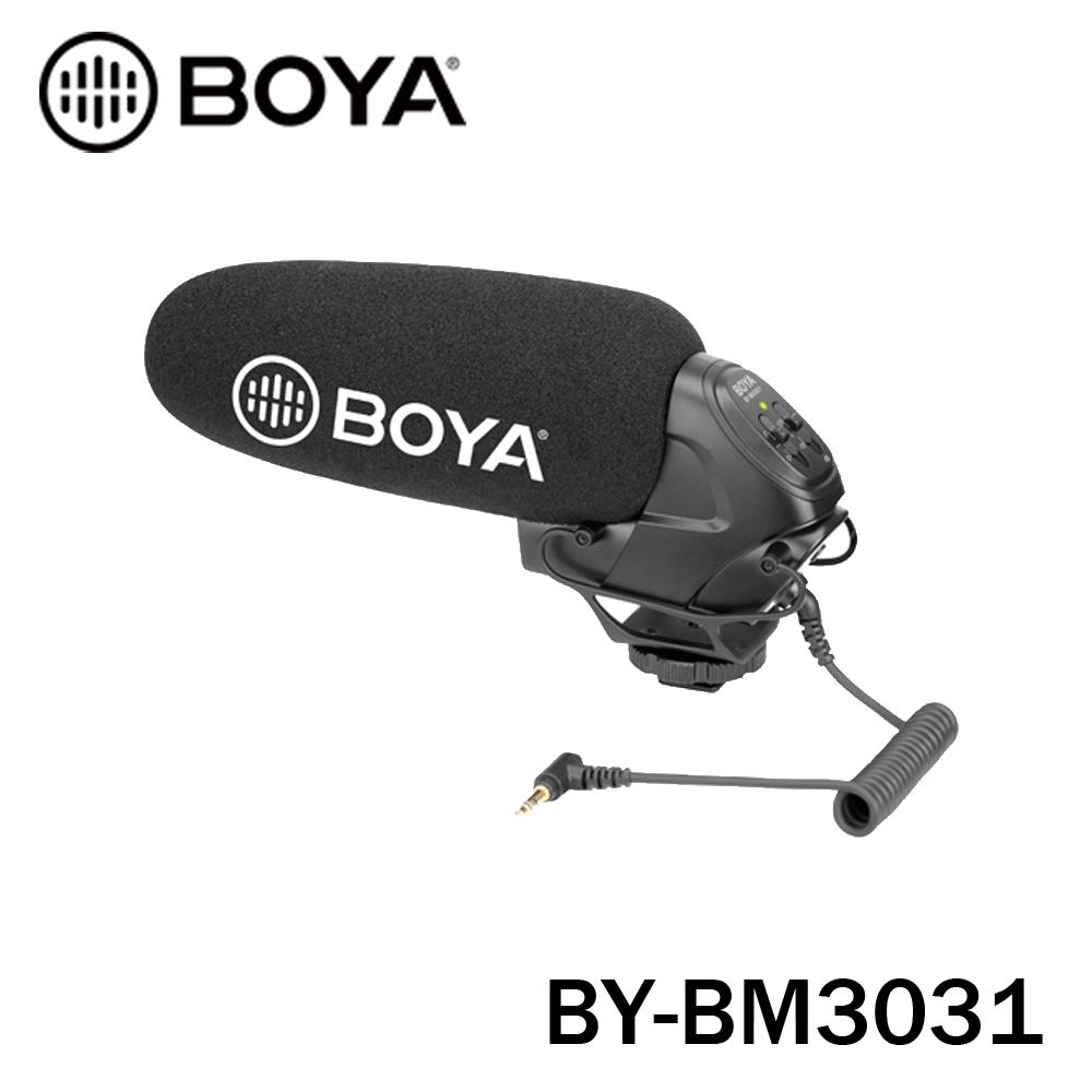 BOYA 博雅 BY-BM3031 專業級 單眼相機 相機 機頂 麥克風 立福公司貨
