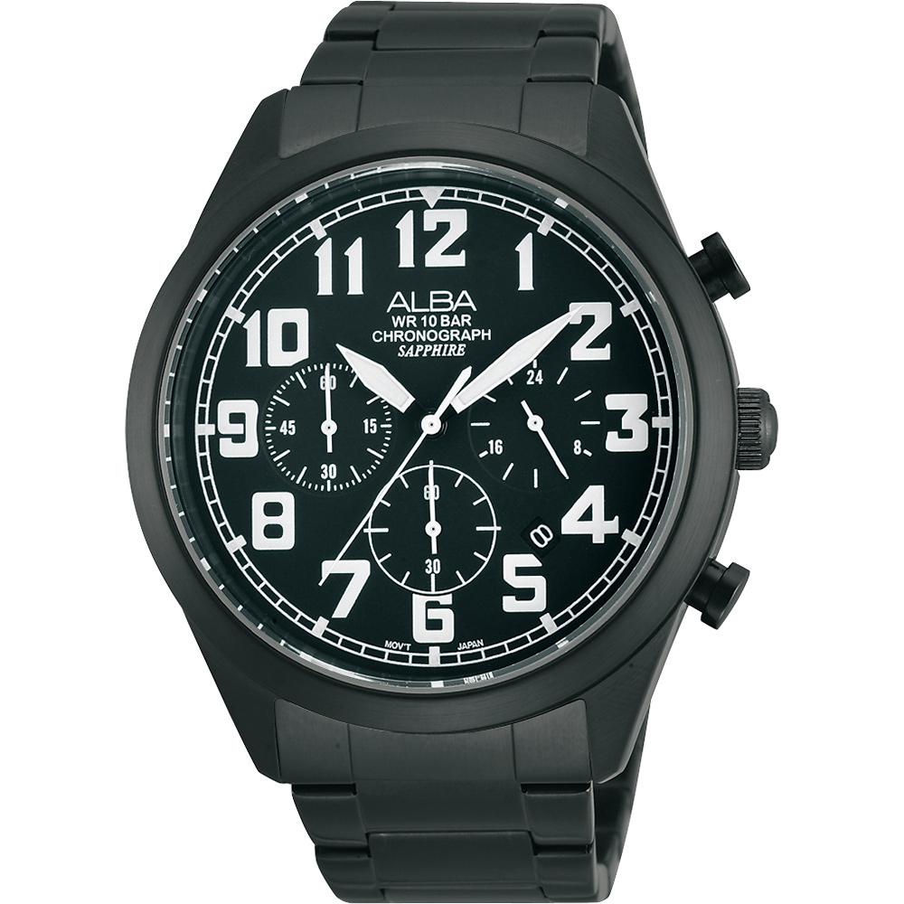 ALBA 街頭玩酷計時手錶(AT3591X1/VD53-X170SD)