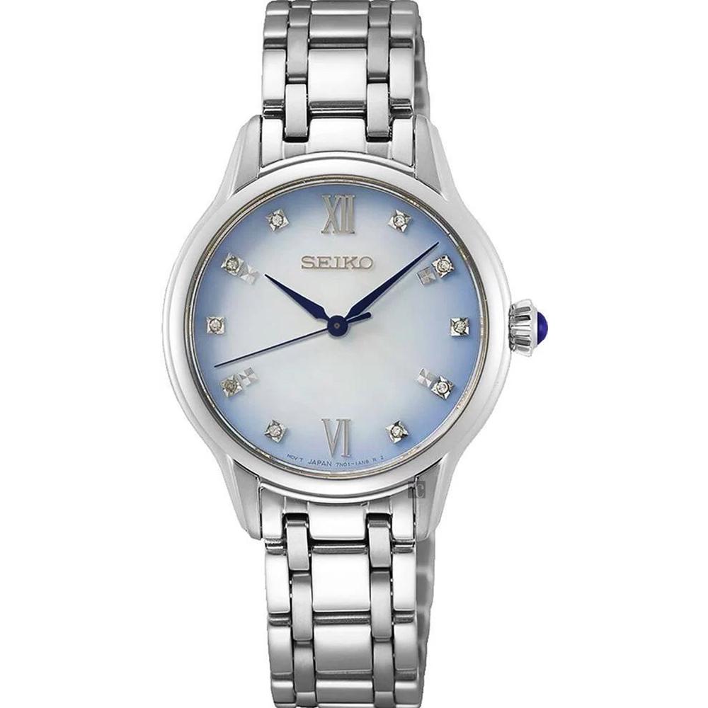 SEIKO 精工 CS 140週年限量 晶鑽石英女錶-29.5mm(SRZ539P1/7N01-0KV0S)