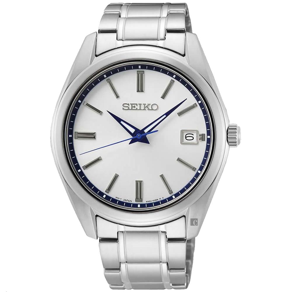 SEIKO 精工 CS 140週年限量 城市簡約手錶-40.2mm(SUR457P1/6N52-00E0S)