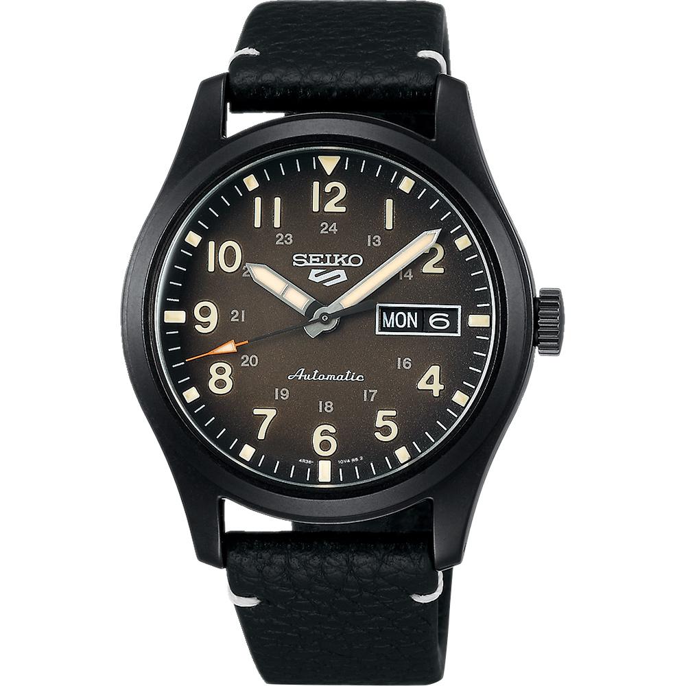 SEIKO 精工 5 Sports 廣告款 煤灰色機械錶-39.4mm(SRPG41K1/4R36-10A0C)