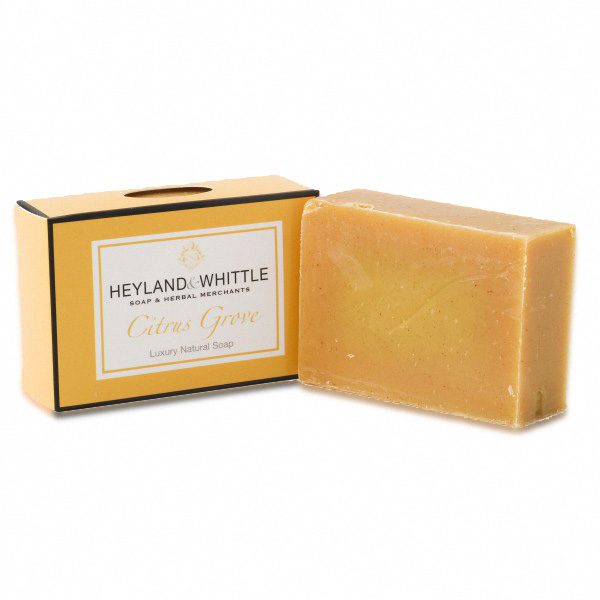 H&W英倫薇朵 繽紛甜橙手工香氛皂 95g