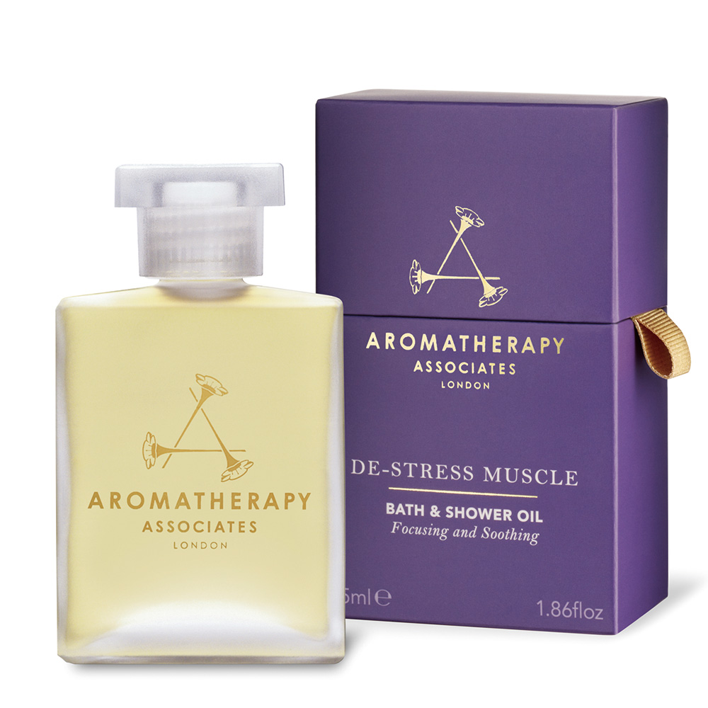AA 舒緩舒肌沐浴油55mL (Aromatherapy Associates)