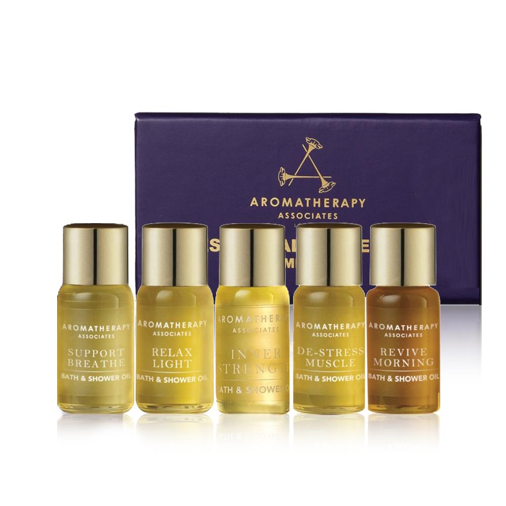 AA 經典5款沐浴油體驗組(Aromatherapy Associates)