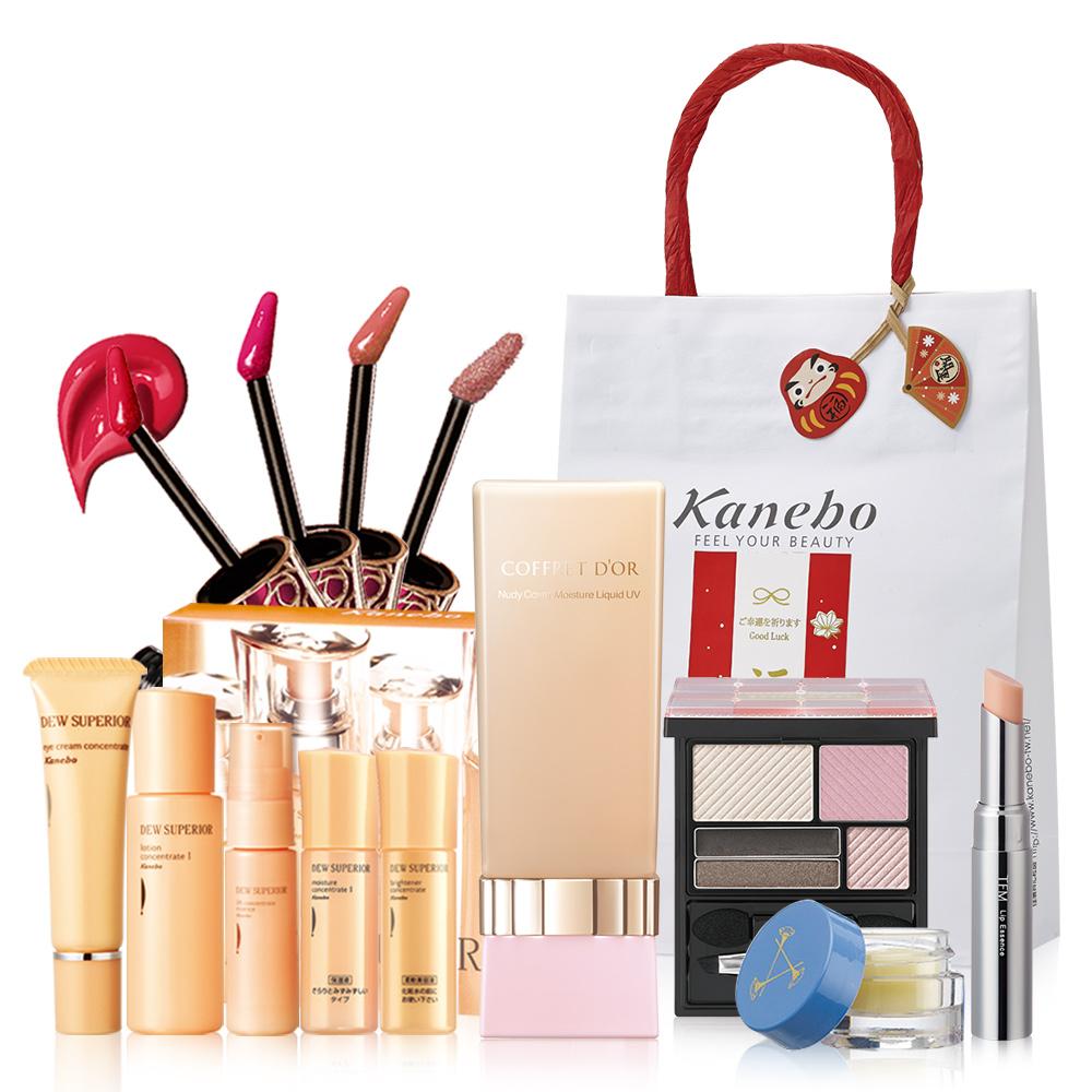 Kanebo佳麗寶 COFFRET D'OR裸肌保濕粉底液福袋組