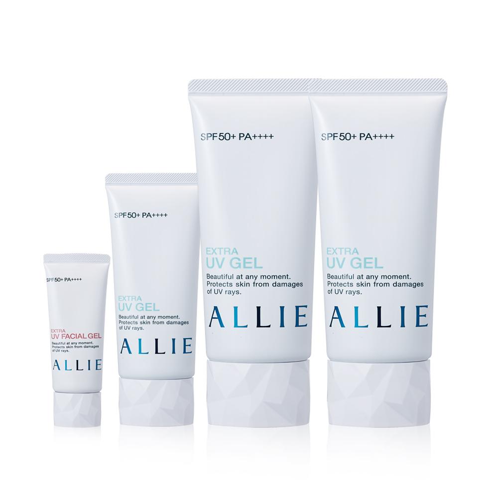 Kanebo佳麗寶 ALLIE EX UV高效防曬水凝乳母親節限定組