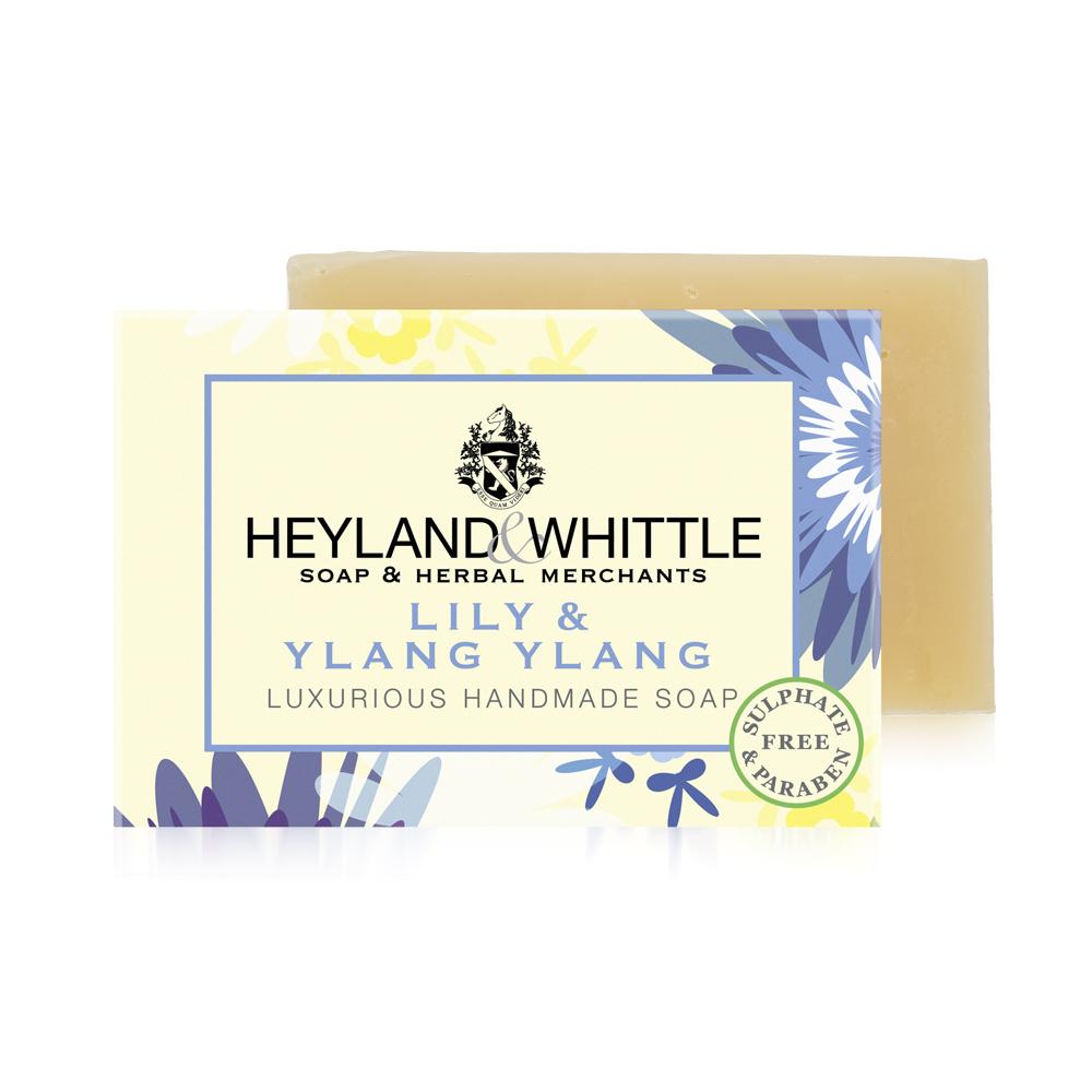H&W英倫薇朵 百合依蘭手工香氛皂120g