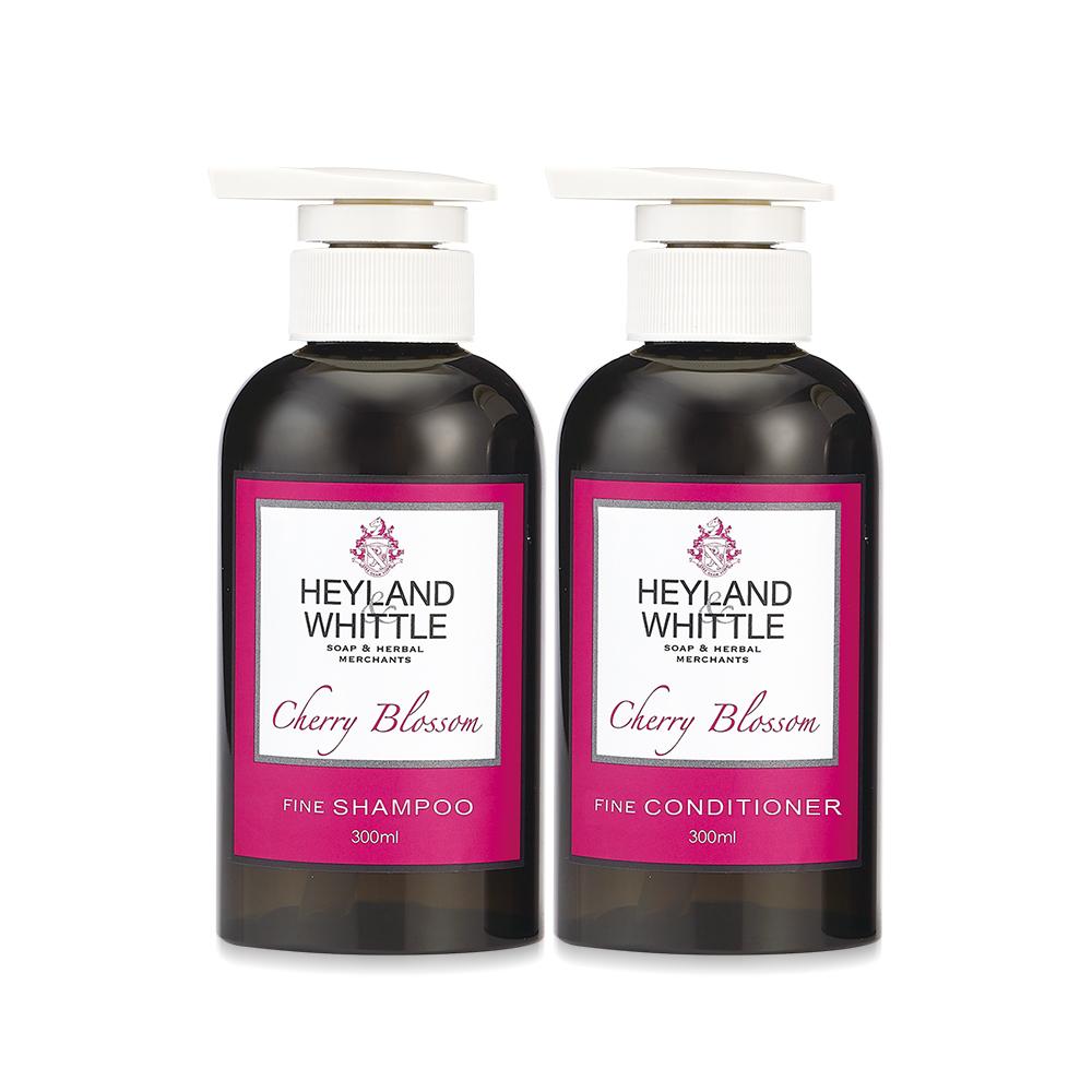 H&W 英倫薇朶 櫻花香氛洗潤髮組