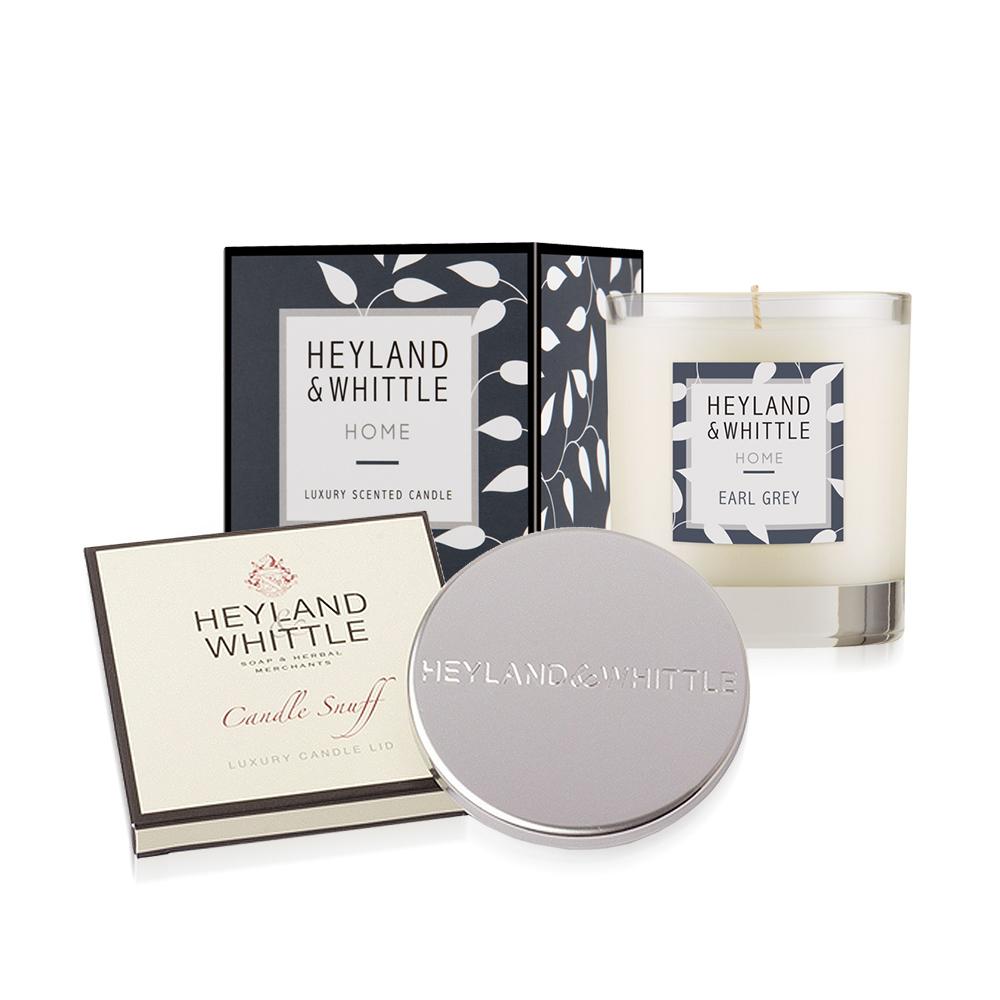 H&W 英倫薇朶 HOME系列香氛燭+燭蓋(8款任選)
