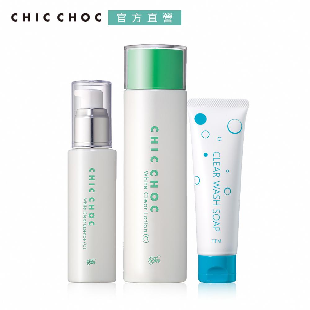 CHIC CHOC 淨透白肌保養組(2款任選)