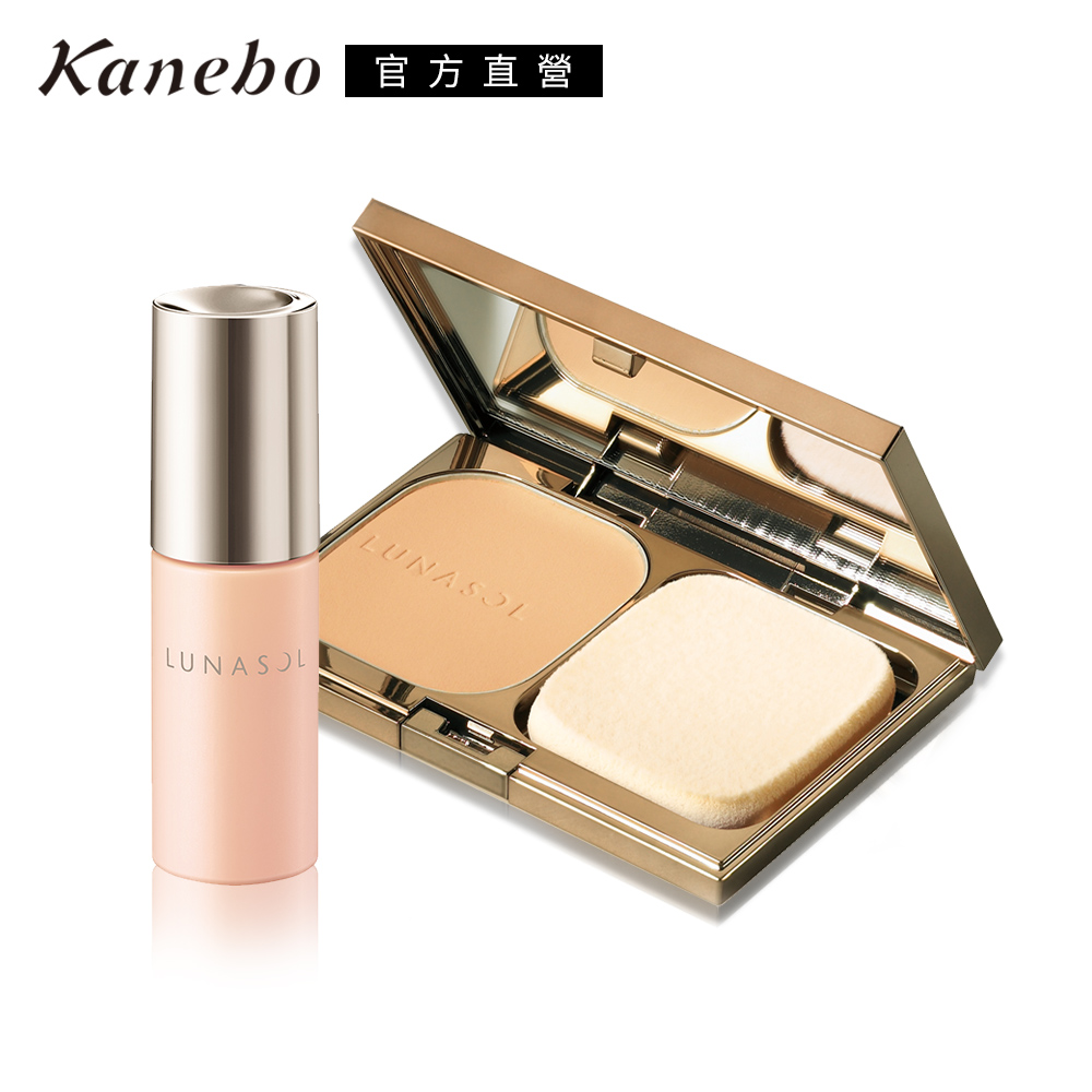 Kanebo 佳麗寶 LUNASOL晶巧光漾粉餅蕊超值限定組(多色任選)