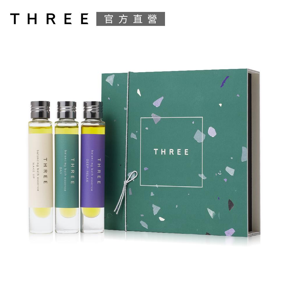 THREE 平衡沐浴精華油 7.5mLx3(限定包裝)