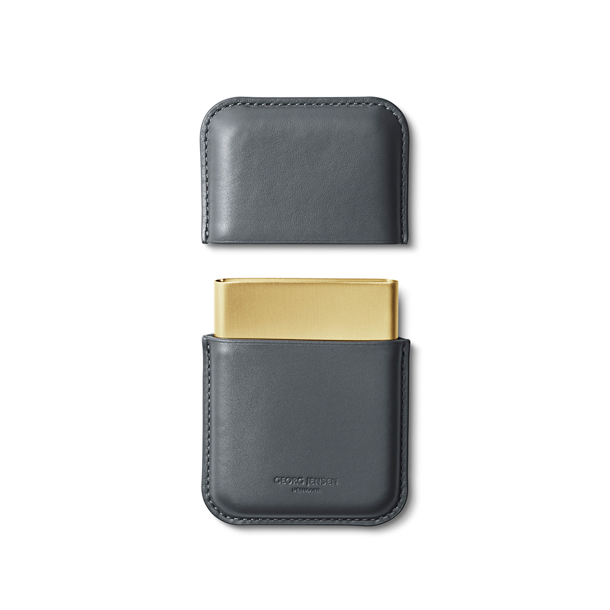 【Georg Jensen】Rohner Business Card Holder, Shade Series 喬治傑生 陰影系列 皮革 名片盒