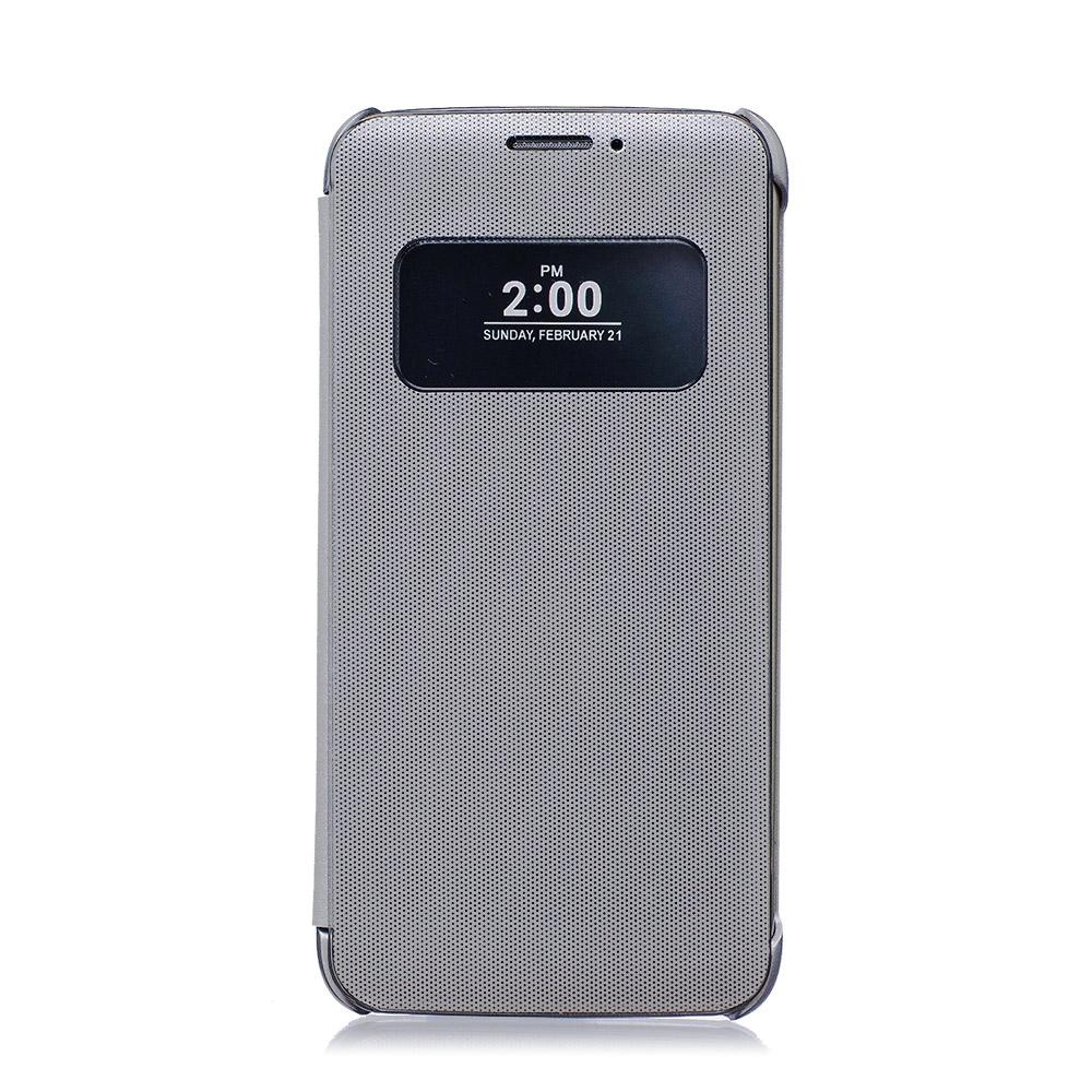 LG G5 H860/Speed H858/SE H845 原廠感應式皮套CFV-160 銀色(公司貨)