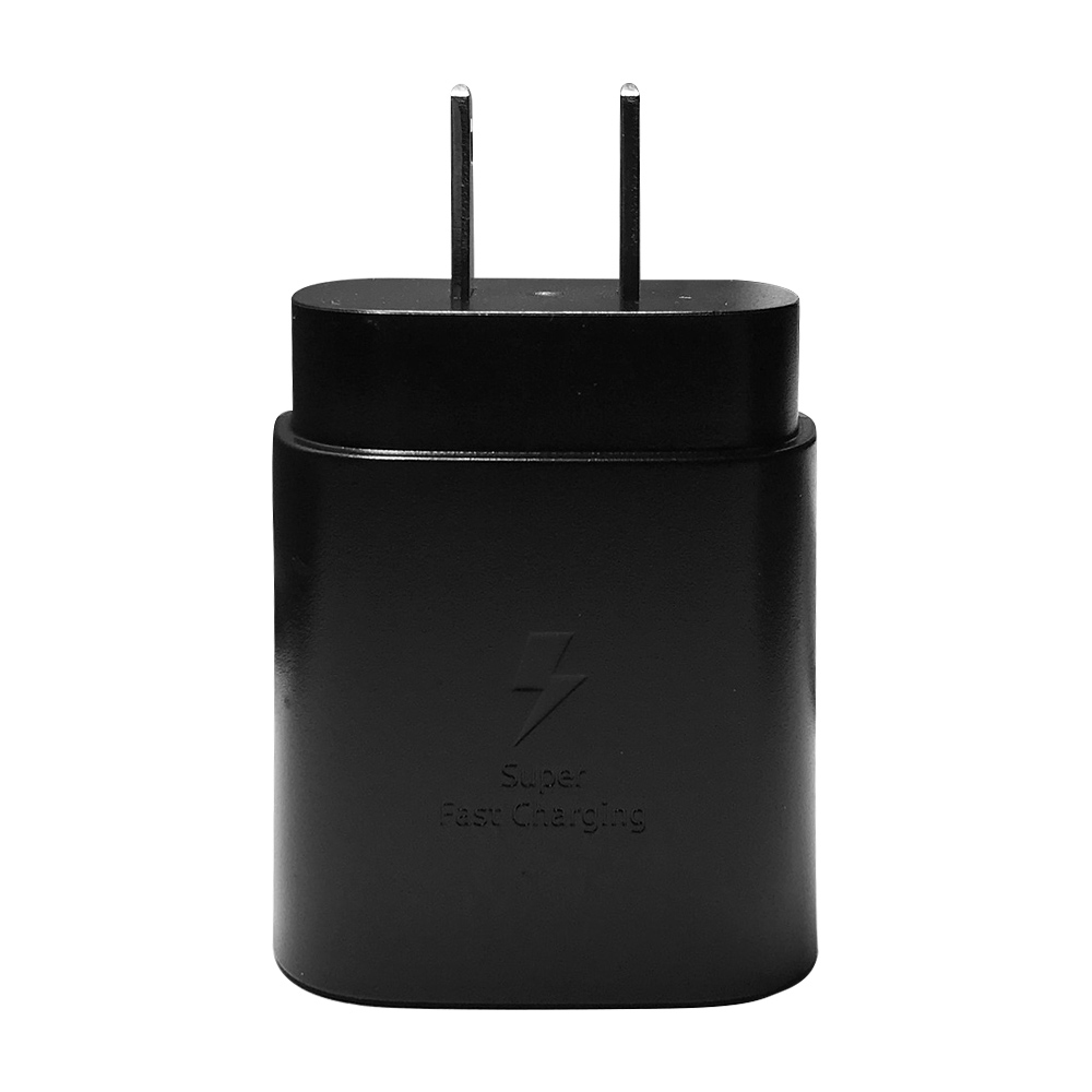 SAMSUNG 原廠 25W Type C 閃電快速旅行充電器-黑 Note10系列款 (密封袋裝)