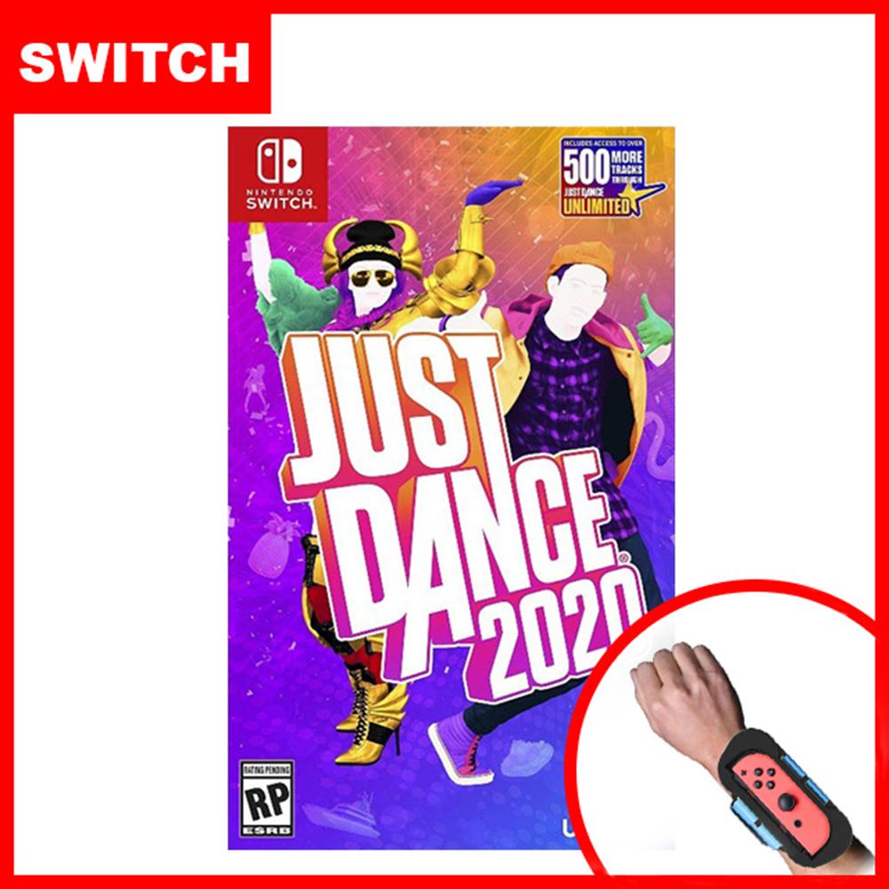 【Nintendo 任天堂】NS Switch Just Dance 舞力全開 2020 (中文版) + 專用跳舞臂帶