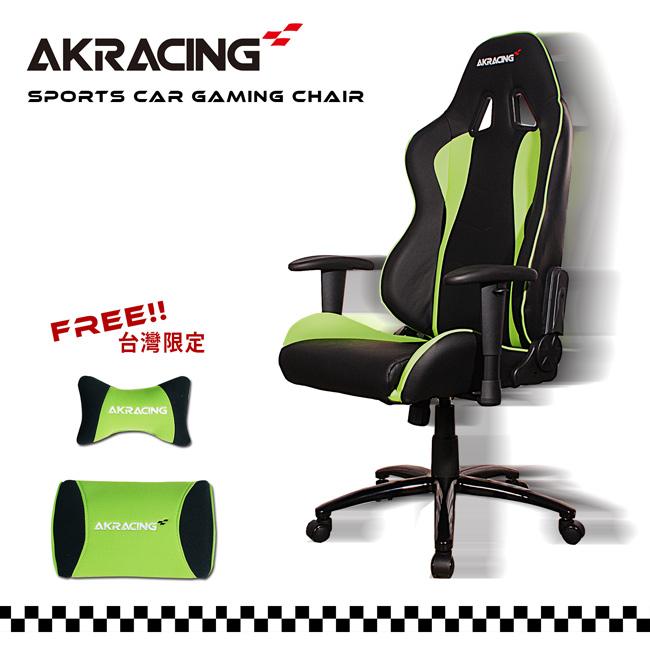 AKRACING超跑賽車椅-GT52 Green Arrow