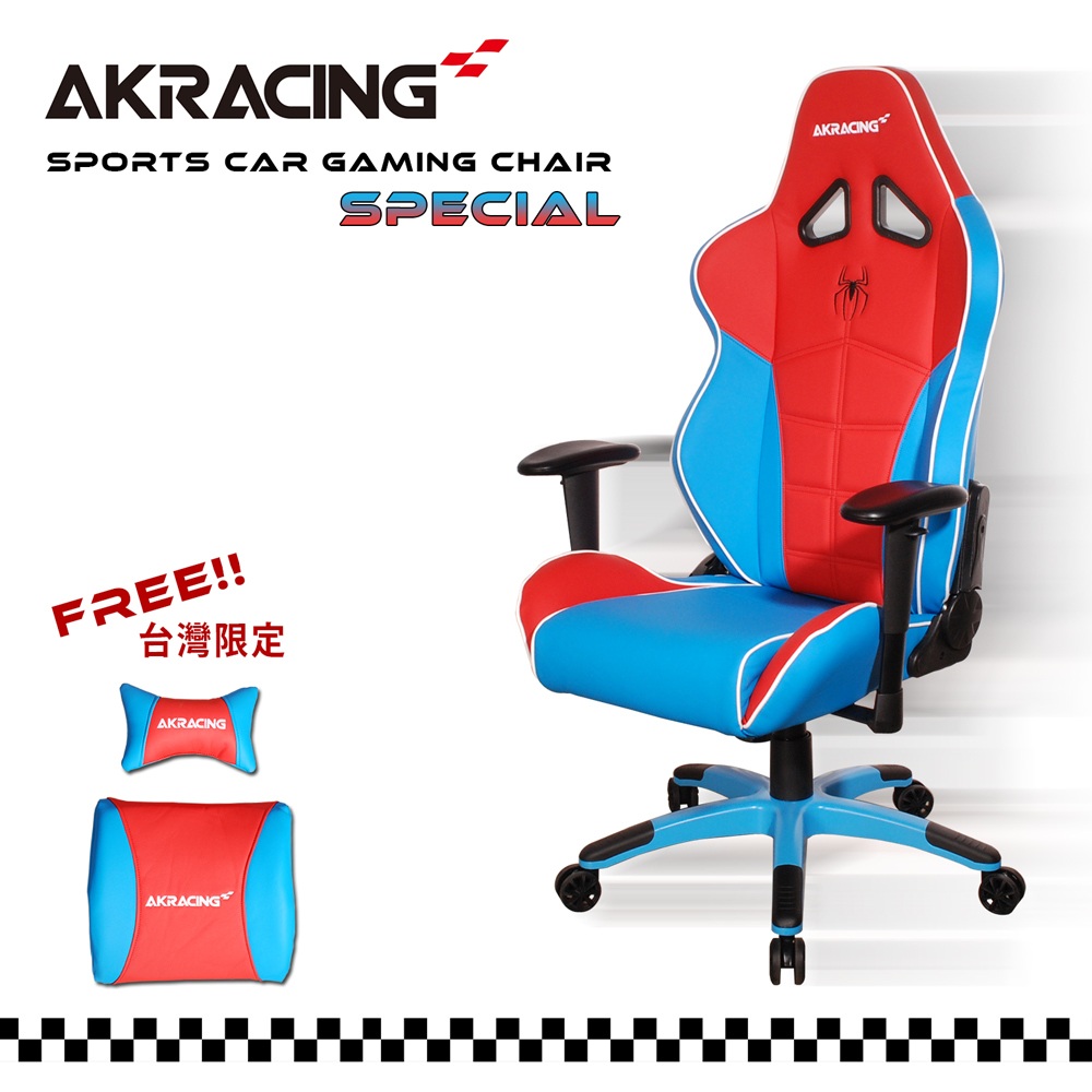 AKRACING超跑賽車椅旗艦款-GT58 SPIDERMAN