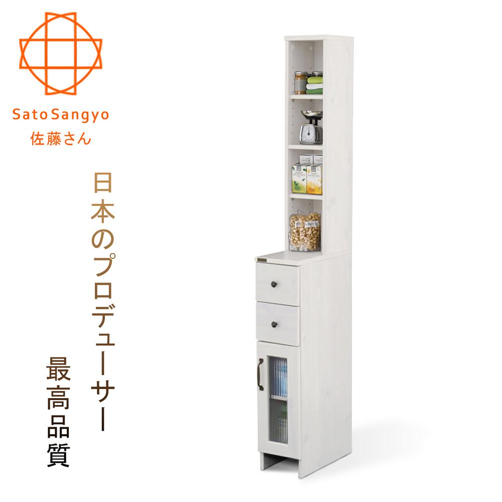 【Sato】DOLLY朵莉雙抽單門SMART隙縫櫃‧幅20cm