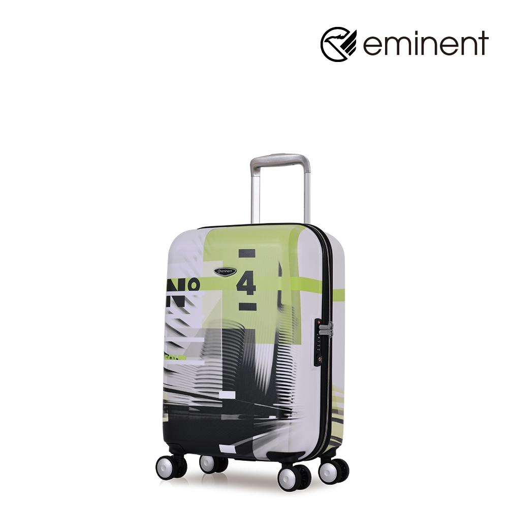 eminent【城市印象】獨創印刷PC行李箱 20吋<城市印象>KG67