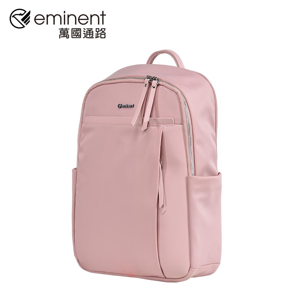 eminent 【薇拉】62-70125-16吋-北歐風筆電背包 (深粉)
