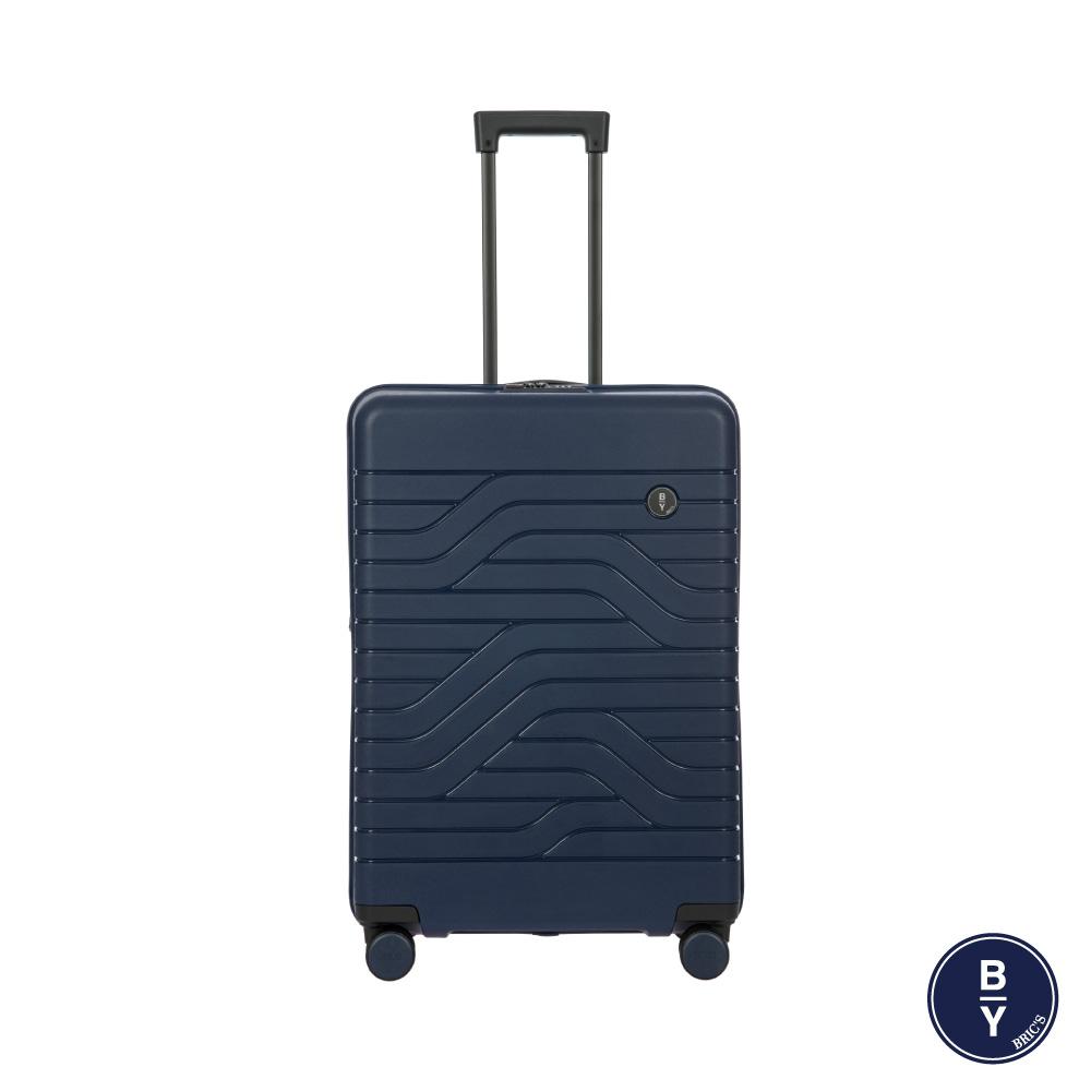 《Traveler Station》義大利 Bric's BY Ulisse 28吋 深藍 可擴充拉鍊拉桿箱