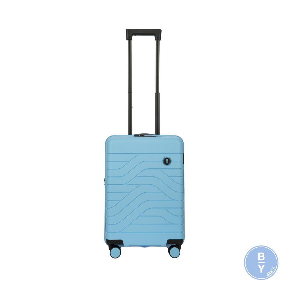 《Traveler Station》義大利 Bric's BY Ulisse 19.5吋 淺藍 可擴充拉鍊登機箱