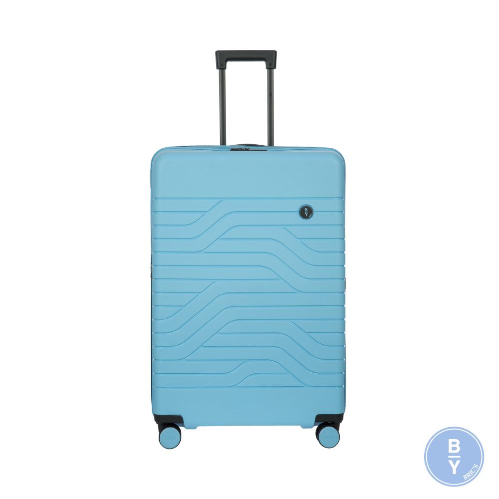 《Traveler Station》義大利 Bric's BY Ulisse 31吋 淺藍 可擴充拉鍊拉桿箱