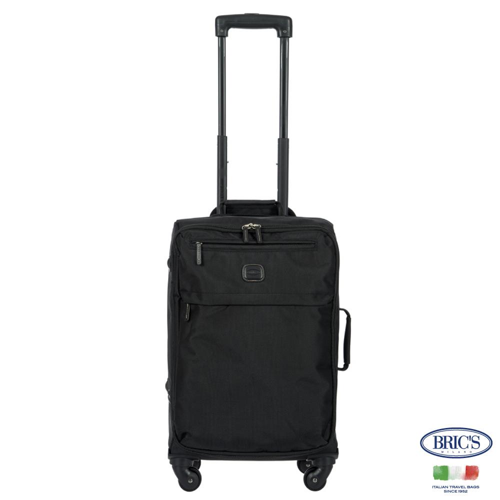 BRIC'S-義大利時尚 SIENA 19.5吋 黑色 防水布箱 登機箱