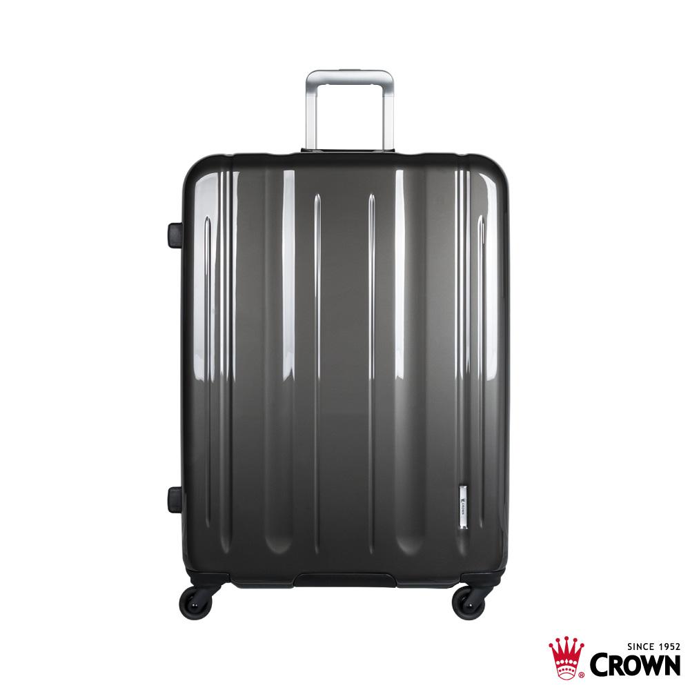 CROWN 皇冠 LINNER 29吋 珠光鐵灰 鋁框拉桿箱 行李箱 旅行箱