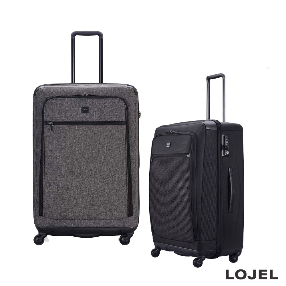 LOJEL EXOSIII 30吋 軟硬結合 前開袋防盜拉鍊箱 行李箱 旅行箱