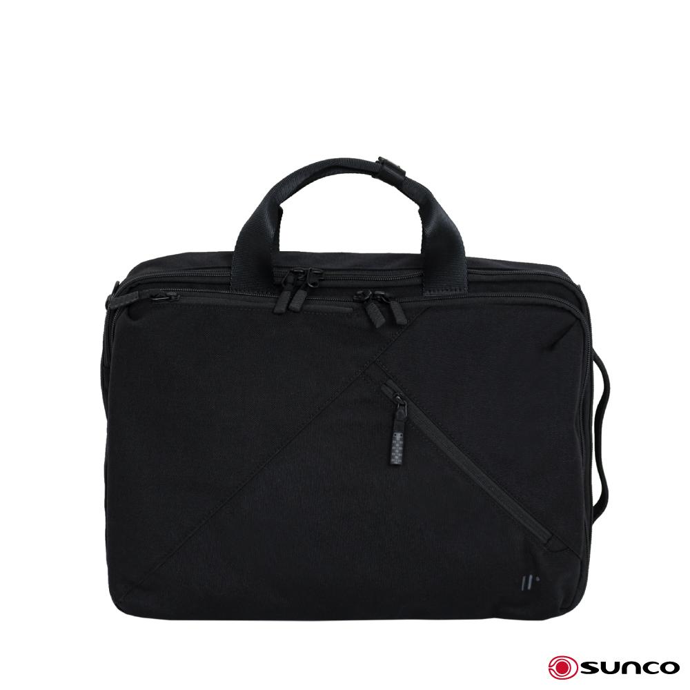 SUNCO 日本進口 3way 斜背 後背 手提電腦包 公事包 電腦包 後背包 商務包