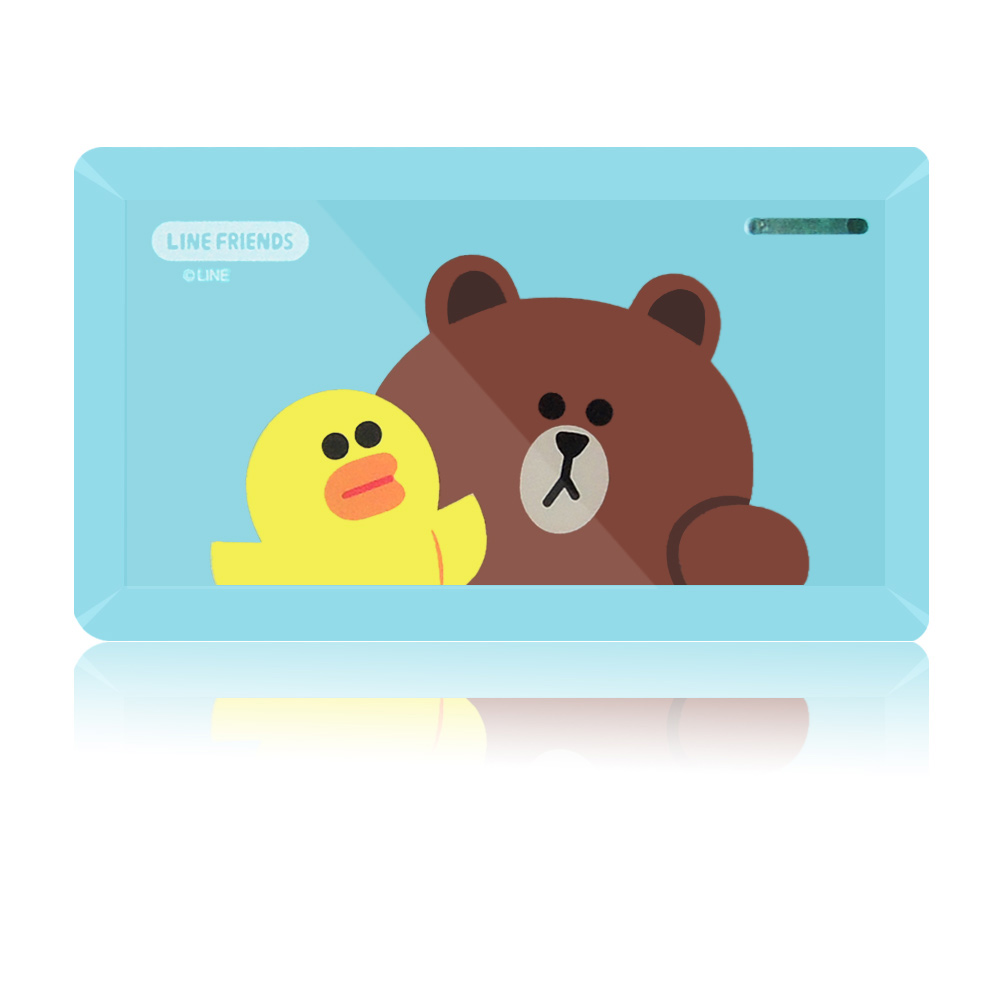 【報稅必備/工商憑證專用】LINE FRIENDS 多功能Combo ATM讀卡機-繽紛好友(LN-R02)