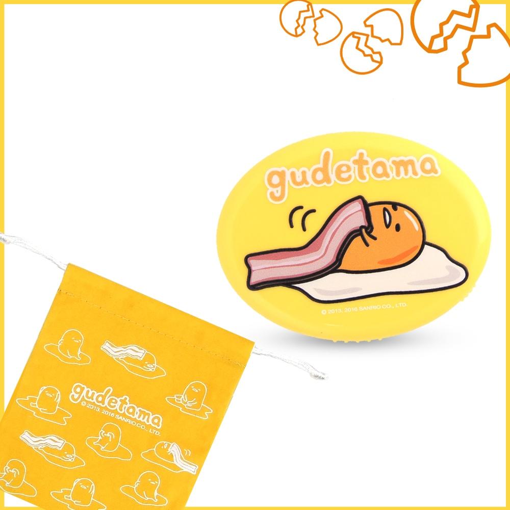 【新春優惠】gudetama 蛋黃哥 電子式暖爐含梳妝鏡 GU-Q22(不含電池)