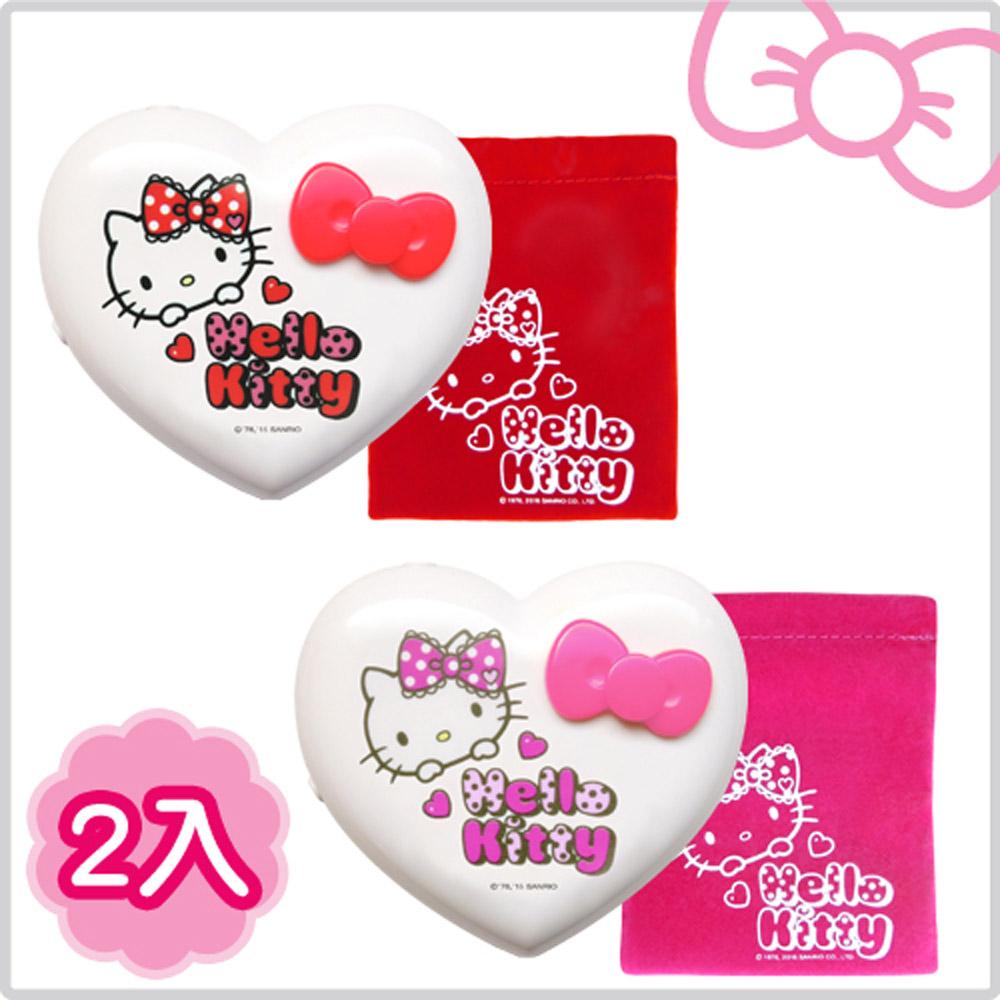【新春優惠二入組】Hello Kitty 電子式暖爐 甜蜜蕾絲款 KT-Q08