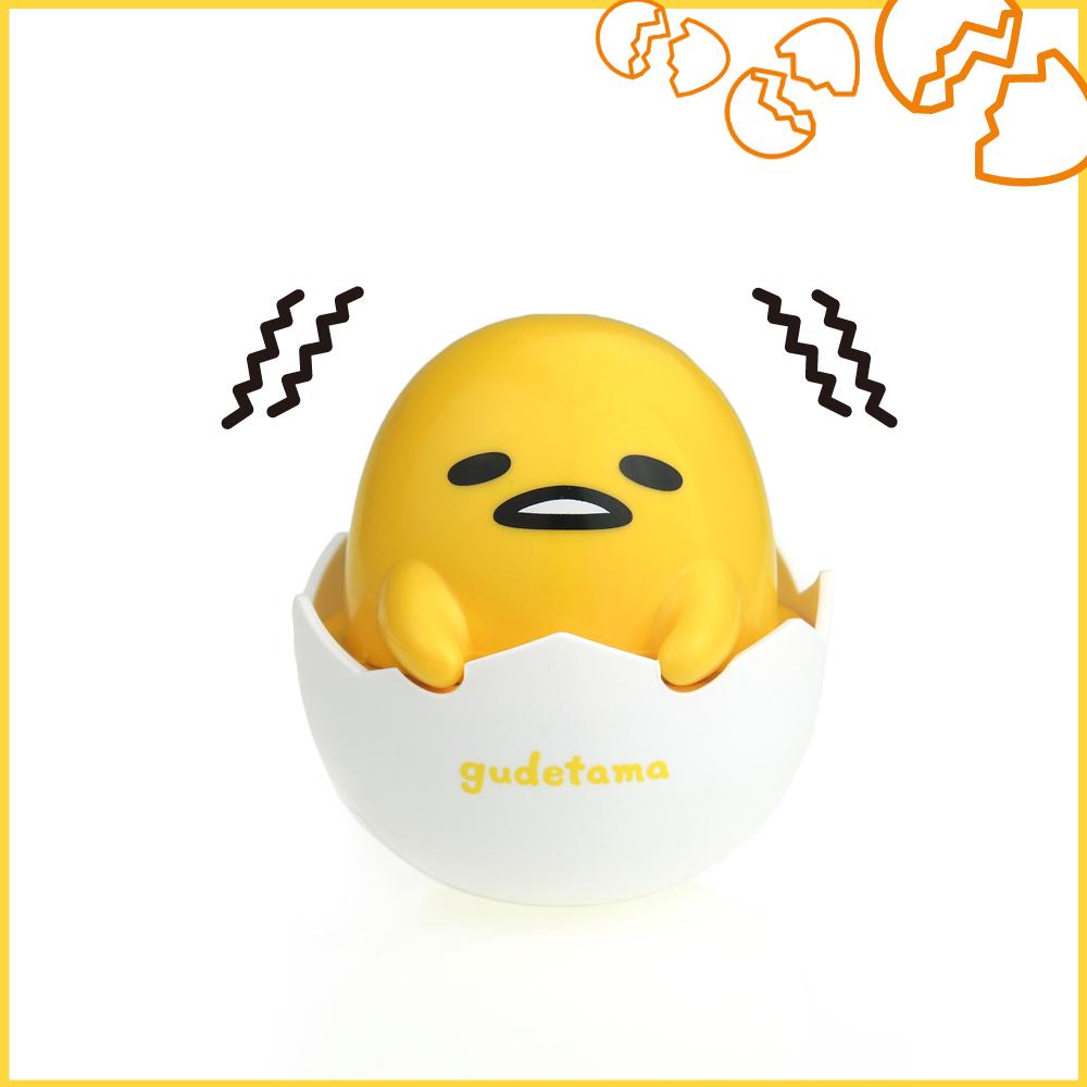 【新春優惠】gudetama蛋黃哥 隨身舒壓震動按摩球 GU-MG01