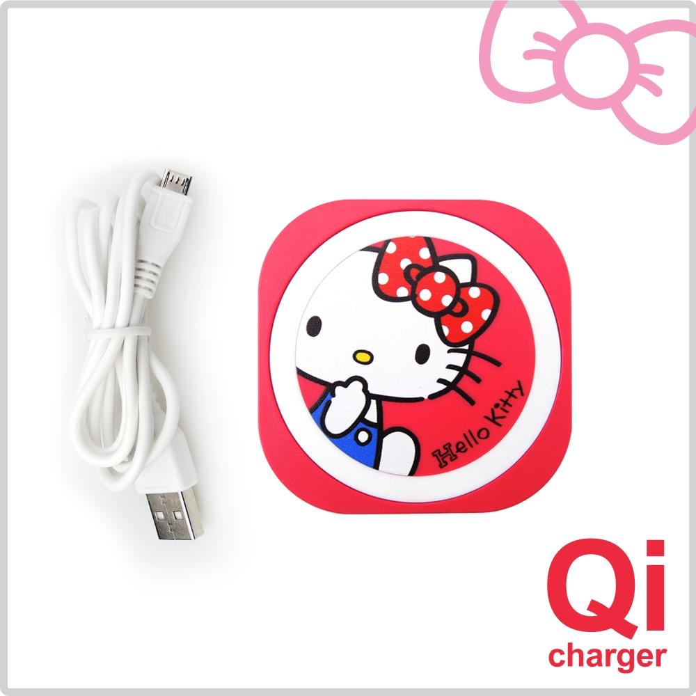 【新春優惠】Hello  Kitty 迷你無線充電板 POWER-i8-KT
