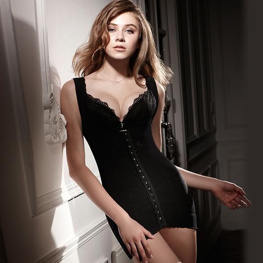 LADY 纖體塑身系 重機能美型束裙 (黑色)