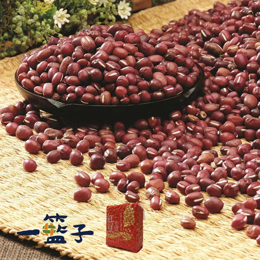 預購《一籃子》100%美濃國產紅豆(500g/包,共5包)