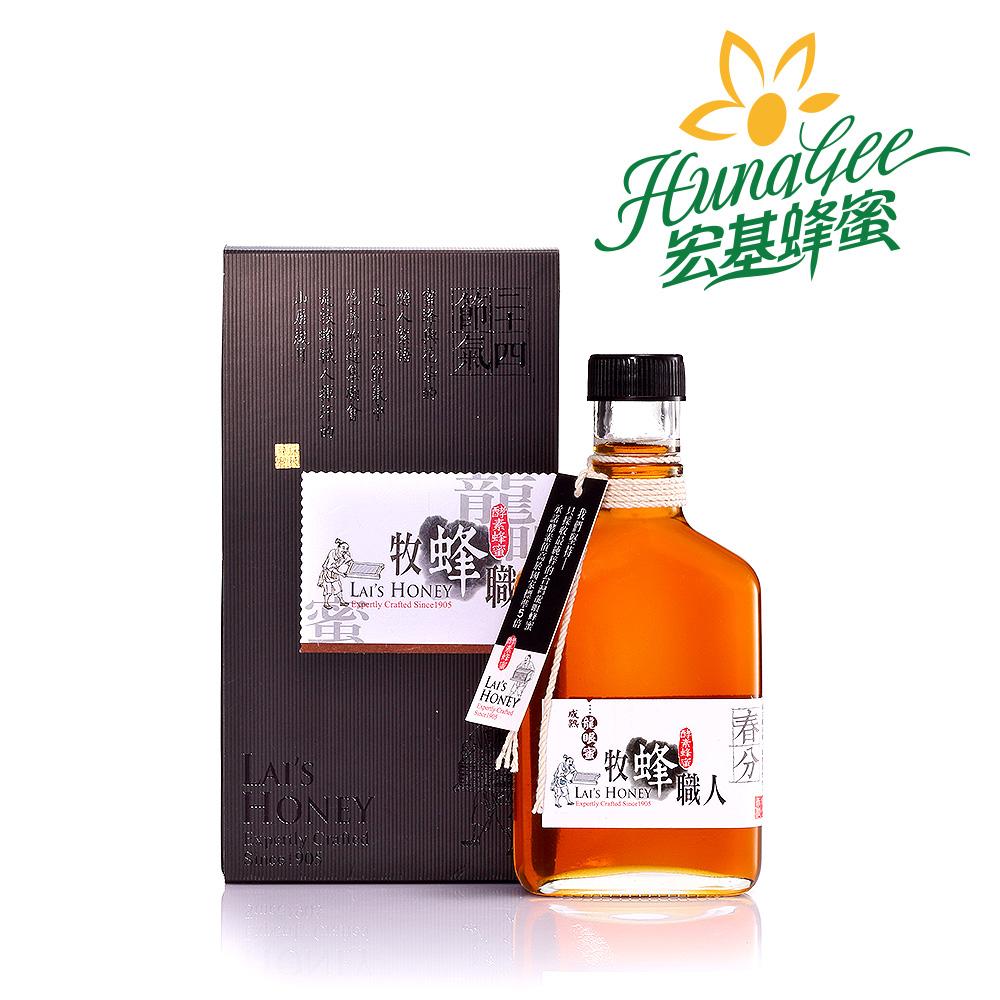 《宏基》悟蜂職人 - 成熟蜜(龍眼蜜)(280g/瓶,共二瓶)
