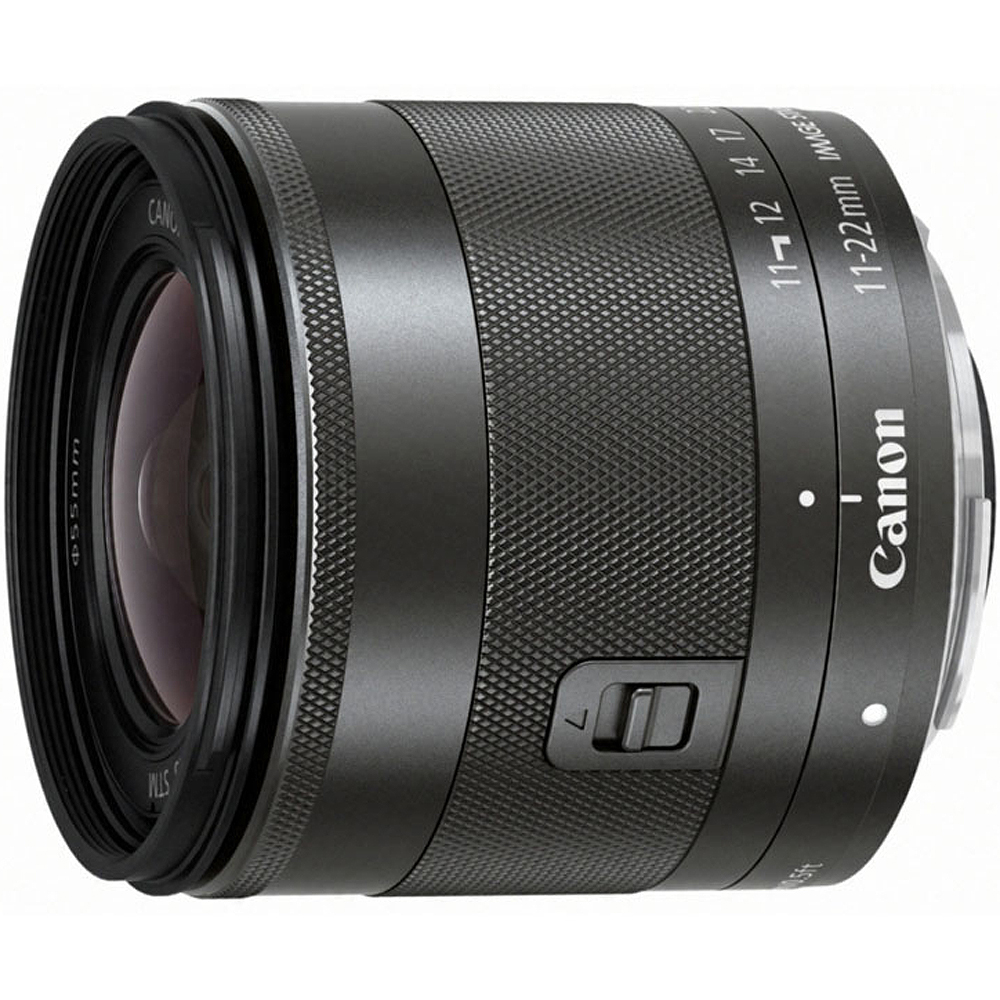 CANON EF-M 11-22mm f/4-5.6 IS STM 超廣角變焦鏡頭(公司貨)
