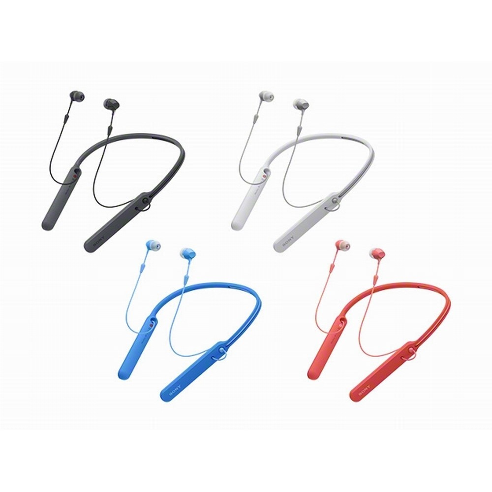 【SONY 索尼】WI-C400 無線藍牙 頸掛式耳機(公司貨)