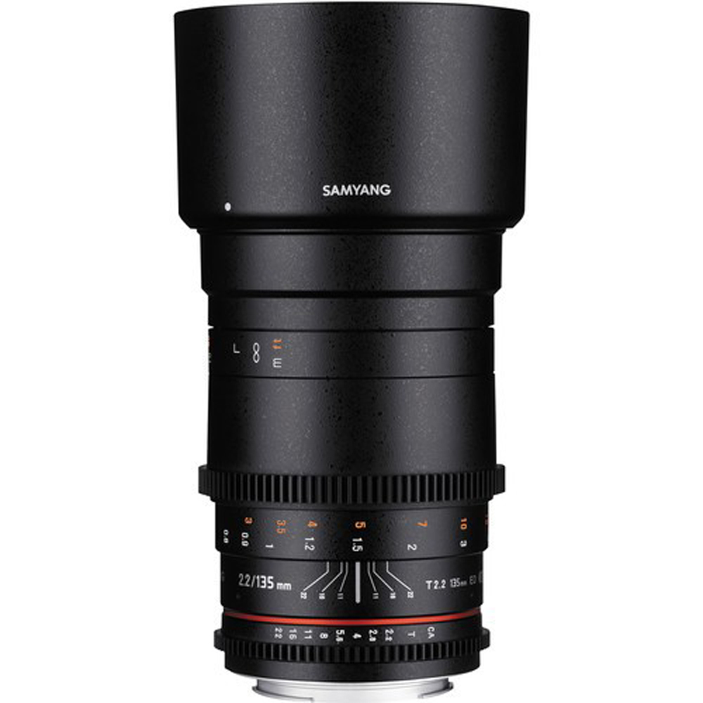 SAMYANG 135MM T/2.2 VDSLR FOR CANON(公司貨)